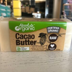 Absolute Organic Raw Cacao Butter 250g