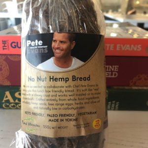 Paleo No Nut Hemp Bread